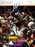 Marvel vs. Capcom 2 Xbox 360 Front Cover