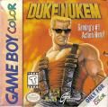 Duke Nukem Game Boy Color Front Cover