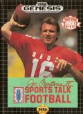 Joe Montana II: Sports Talk Football Genesis Front Cover