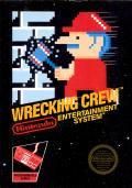 Wrecking Crew NES Front Cover