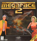 MegaRace 2 DOS Front Cover