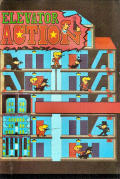 Elevator Action ZX Spectrum Front Cover