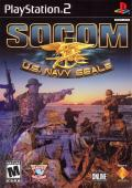 SOCOM: U.S. Navy SEALs PlayStation 2 Front Cover
