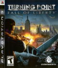 Turning Point: Fall of Liberty PlayStation 3 Front Cover