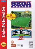 College Football's National Championship II Genesis Front Cover