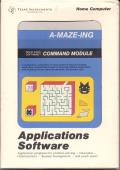 A-Maze-Ing TI-99/4A Front Cover