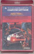 Star Trek: Strategic Operations Simulator TI-99/4A Front Cover