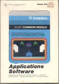 TI Invaders TI-99/4A Front Cover