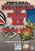 Hearts of Iron II Complete Macintosh Front Cover