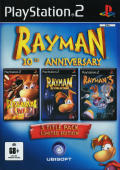 Rayman: 10th Anniversary Collection PlayStation 2 Front Cover