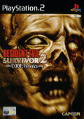 Resident Evil: Survivor 2 - Code: Veronica PlayStation 2 Front Cover