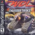 World Destruction League: Thunder Tanks PlayStation Front Cover