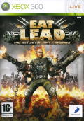 Eat Lead: The Return of Matt Hazard Xbox 360 Front Cover