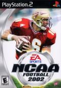 NCAA Football 2002 PlayStation 2 Front Cover