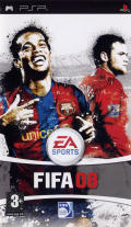 FIFA Soccer 08 PSP Front Cover