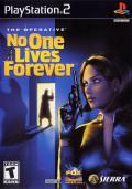 The Operative: No One Lives Forever PlayStation 2 Front Cover
