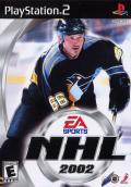 NHL 2002 PlayStation 2 Front Cover