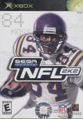 NFL 2K2 Xbox Front Cover