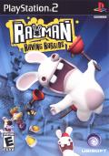 Rayman: Raving Rabbids PlayStation 2 Front Cover