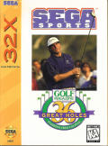 Golf Magazine presents 36 Great Holes starring Fred Couples SEGA 32X Front Cover