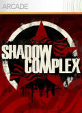 Shadow Complex Xbox 360 Front Cover