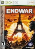 Tom Clancy's EndWar Xbox 360 Front Cover