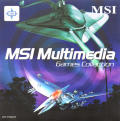 MSI Multimedia Games Collection Windows Front Cover MSI Multimedia
