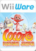 Cocoto: Platform Jumper Wii Front Cover