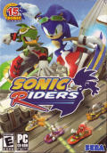 Sonic Riders Windows Front Cover