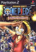 One Piece: Pirates' Carnival PlayStation 2 Front Cover