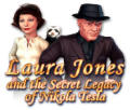 Laura Jones and the Secret Legacy of Nikola Tesla Macintosh Front Cover