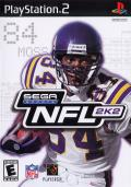 NFL 2K2 PlayStation 2 Front Cover