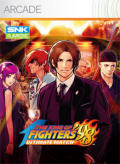 The King of Fighters '98: Ultimate Match Xbox 360 Front Cover