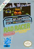 Rad Racer NES Front Cover