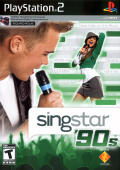 SingStar: '90s PlayStation 2 Front Cover