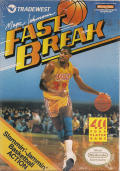 Magic Johnson's Fast Break NES Front Cover