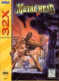 Metal Head SEGA 32X Front Cover