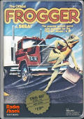 Frogger TRS-80 Front Cover