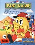 Pac-Land MSX Front Cover