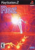 Rez PlayStation 2 Front Cover