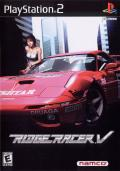 Ridge Racer V PlayStation 2 Front Cover