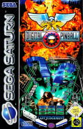 Digital Pinball: Last Gladiators SEGA Saturn Front Cover
