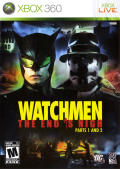 Watchmen: The End is Nigh: Parts 1 and 2 Xbox 360 Front Cover
