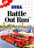 Battle Out Run SEGA Master System Front Cover