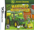 John Deere: Harvest in the Heartland Nintendo DS Front Cover