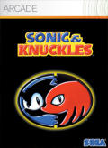 Sonic & Knuckles Xbox 360 Front Cover
