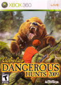 Cabela's Dangerous Hunts 2009 Xbox 360 Front Cover