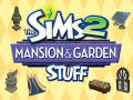 The Sims 2: Mansion & Garden Stuff Windows Front Cover