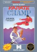 Karate Champ NES Front Cover