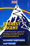 Everest Ascent Commodore 64 Front Cover